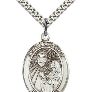 St. Margaret Mary Alacoque Medal - 82118 Saint Medal