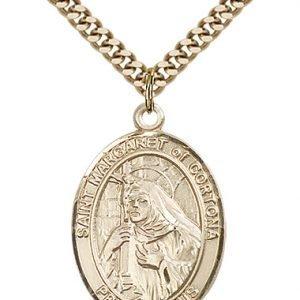 St. Margaret of Cortona Medal - 82679 Saint Medal