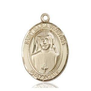 St. Maria Faustina Medal - 82108 Saint Medal
