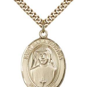 St. Maria Faustina Medal - 82107 Saint Medal
