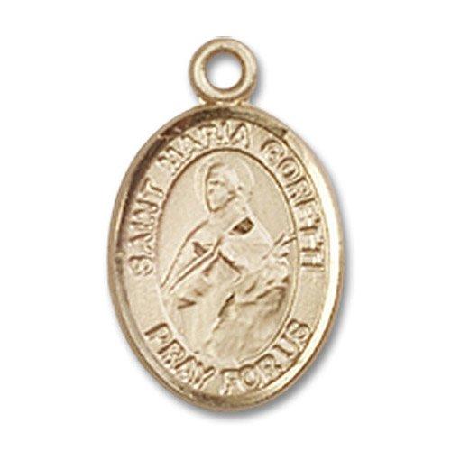 St. Maria Goretti Charm - 14 Karat Gold Filled (#85024)