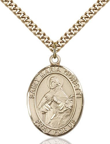 St. Maria Goretti Medal - 82463 Saint Medal