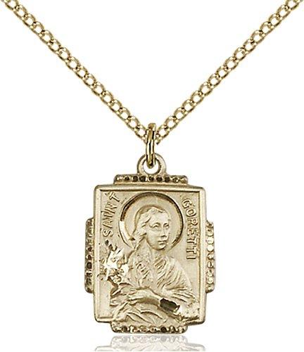 St. Maria Goretti Medal - 83085 Saint Medal