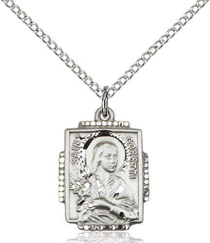 St. Maria Goretti Medal - 83087 Saint Medal