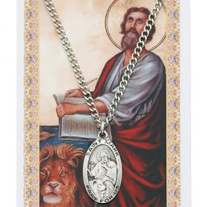 St Mark Pendant and Prayer Card