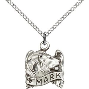 St. Mark Pendant - 83225 Saint Medal