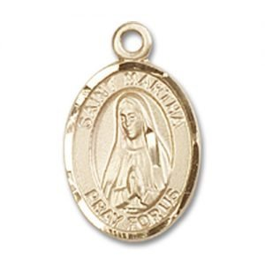 St. Martha Charm - 14 Karat Gold Filled (#84682)