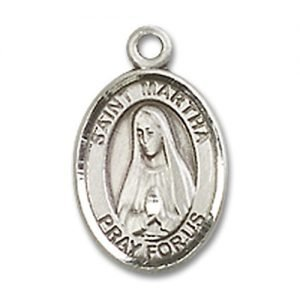 St. Martha Charm - Sterling Silver  (#M0031)