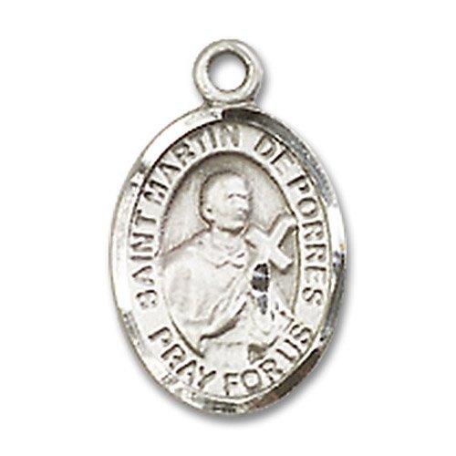 St. Martin De Porres Charm - Sterling Silver (#84720)