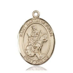 St. Martin of Tours Medal - 82449 Saint Medal