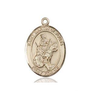 St. Martin of Tours Medal - 83821 Saint Medal