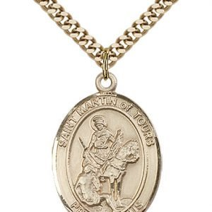 St. Martin of Tours Medal - 82448 Saint Medal