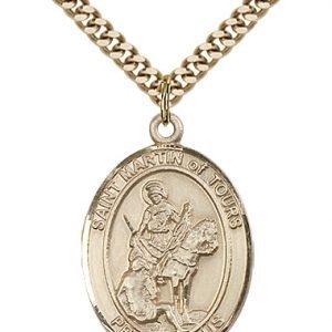 St. Martin of Tours Medal - 82448 Saint Medal