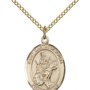 St. Martin of Tours Medal - 83820 Saint Medal