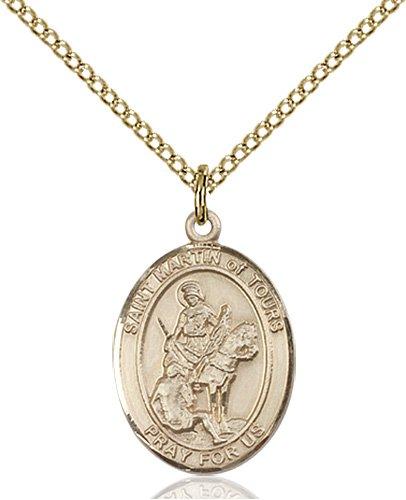 St. Martin of Tours Medal - 83820 Saint Medal