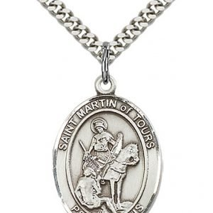 St. Martin of Tours Medal - 82450 Saint Medal
