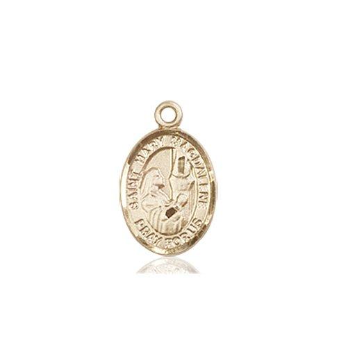 3eb5438cf7e St Mary Magdalene Tiny Charm - 14 KT Gold - Catholic Saint Medals