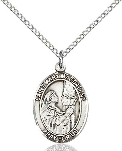 9602f996dba St Mary Magdalene Medal - Sterling Silver - Medium, Engravable ...