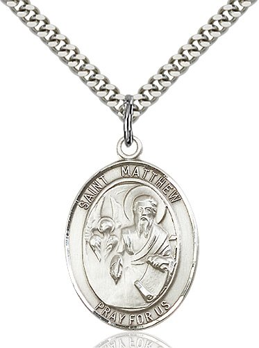 St. Matthew the Apostle Medal - 19161 Saint Medal