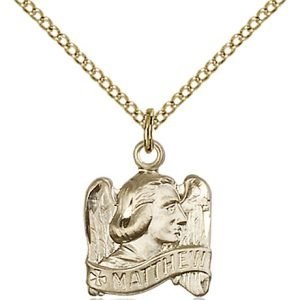 St. Matthew Pendant - 83220 Saint Medal
