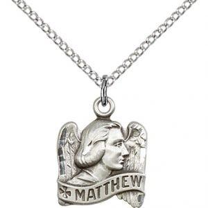 St. Matthew Pendant - 83222 Saint Medal