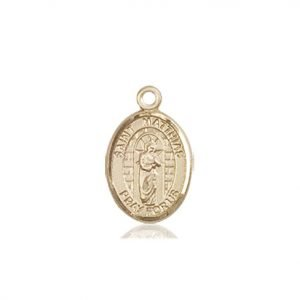St. Matthias the Apostle Charm - 85323 Saint Medal