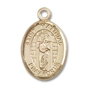 St. Matthias the Apostle Charm - 14 Karat Gold Filled (#85322)