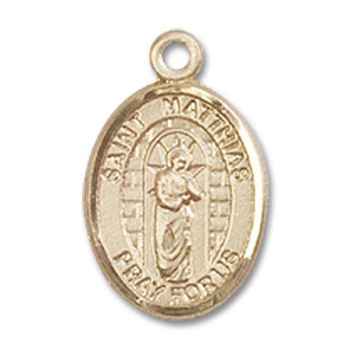 St. Matthias the Apostle Charm - 14 Karat Gold Filled (#85322)