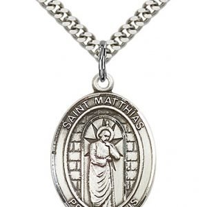 St. Matthias the Apostle Medal - 82765 Saint Medal