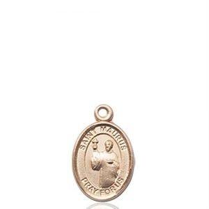 St. Maurus Charm - 14 KT Gold (#85103)