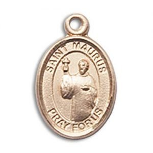 St. Maurus Charm - 14 Karat Gold Filled (#85102)