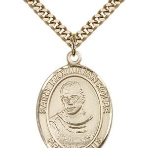 St. Maximilian Kolbe Medal - 82119 Saint Medal