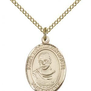 St. Maximilian Kolbe Medal - 83485 Saint Medal