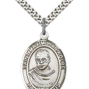 St. Maximilian Kolbe Medal - 19054 Saint Medal