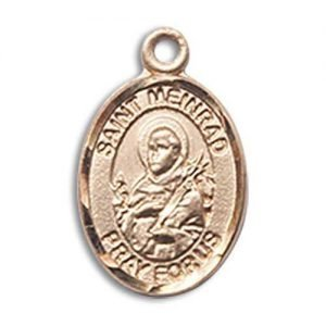 St. Meinrad of Einsideln Charm - 14 Karat Gold Filled (#85250)