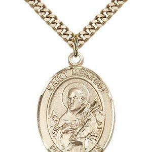 St. Meinrad of Einsideln Medal - 82691 Saint Medal