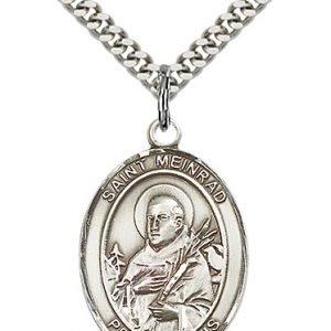 St. Meinrad of Einsideln Medal - 82693 Saint Medal
