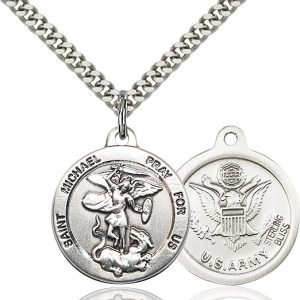 St Michael - US Army Medal