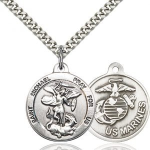 St Michael - US Marines Medal