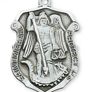 St. Michael Medal in Sterling Silver