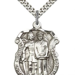 St. Michael the Archangel Medal - (#19021) Saint Medal
