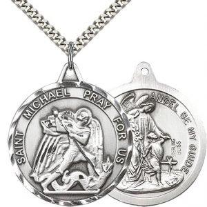 St. Michael the Archangel Medal - 81597 Saint Medal