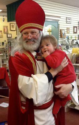 St. Nicholas and baby Nicholas 2014