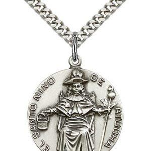St. Nio De Atocha Medal - 81821 Saint Medal