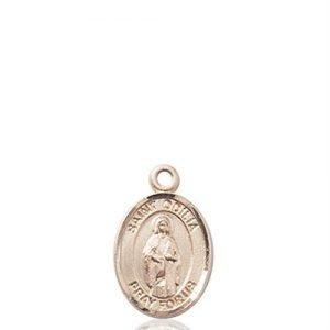 St. Odilia Charm - 14 KT Gold (#85287)