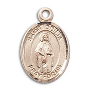 St. Odilia Charm - 14 Karat Gold Filled (#85286)