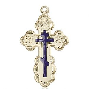 14kt Gold St. Olga Medal #86959