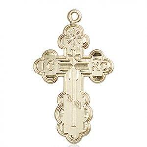 14kt Gold St. Olga Medal #86963