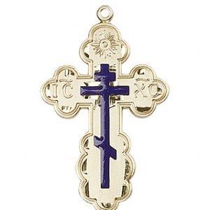 14kt Gold St. Olga Medal #86967
