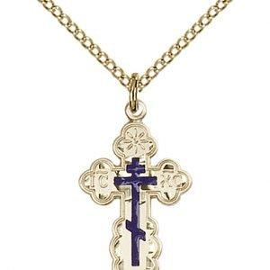 Gold Filled St. Olga Necklace #86949